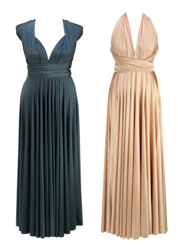 unisize bridesmaid dresses