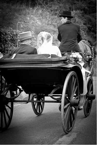 wedding carriage france