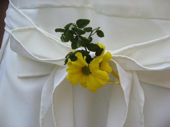 yellow flower chairties
