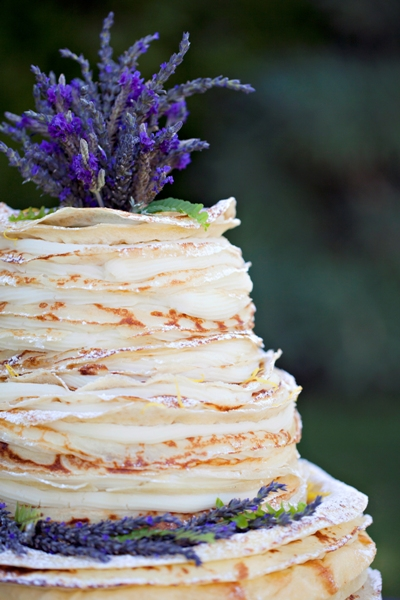 meyer lemon cake with lavender cream honey lavender mille crepes cake ...