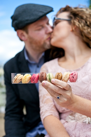 engagement macarons paris