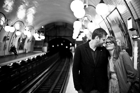 metro loveshoot paris