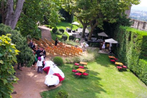 outdoor ceremony france