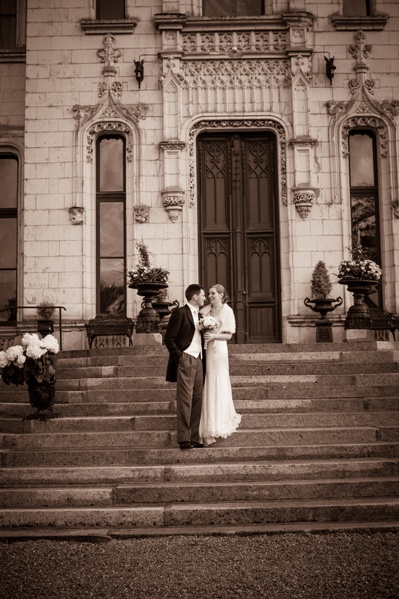 vintage chateau wedding