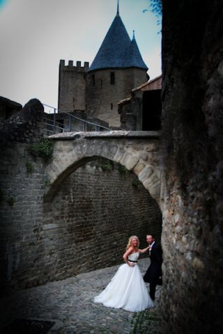 walled castle wedding