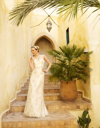 Nevada wedding dress