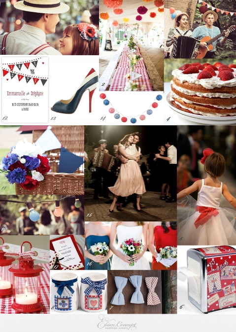 bastille day inspiration board