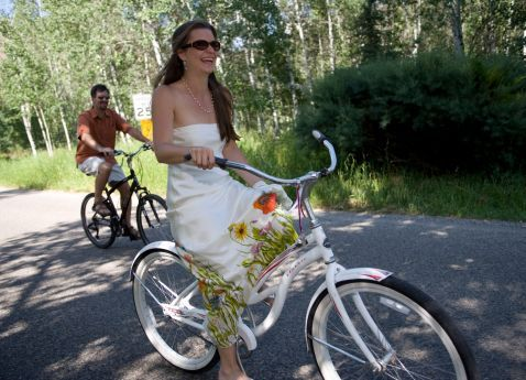 bridal transport bicycle
