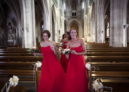 bridemaids normandy