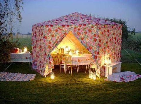 english fete wedding tent