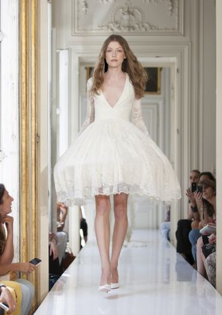 french designer wedding dress