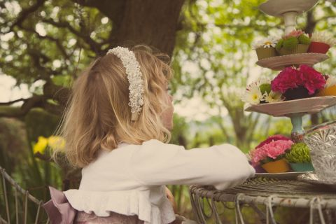 french shabby chic teaparty © - Christy Blanch Photography / French Wedding Style Blog