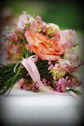 shabby chic bouquet