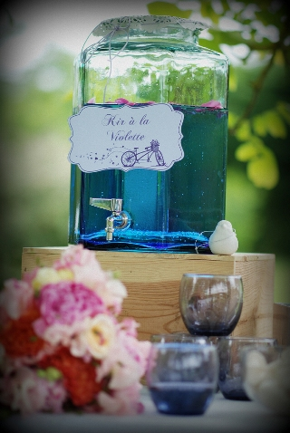 shabby chic water dispenser