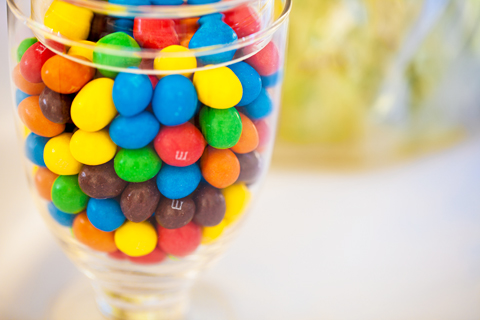 wedding m&ms