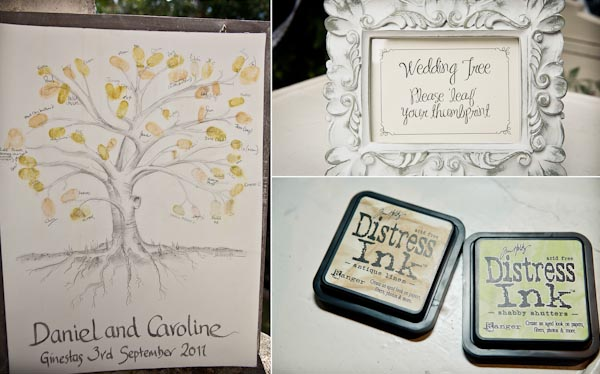 Fingerprint Wedding Guest Tree Personalise Your Alternative Book