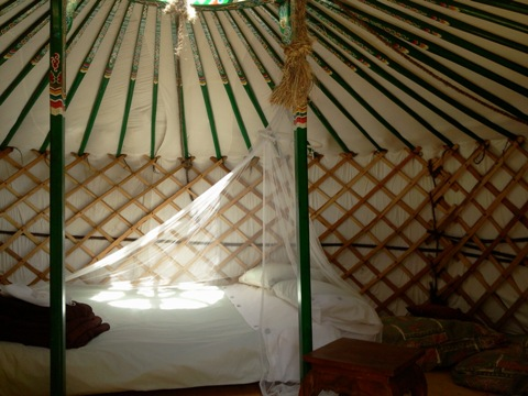 yurt holiday france