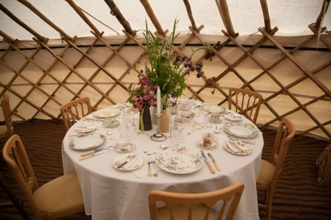 yurt wedding ideas