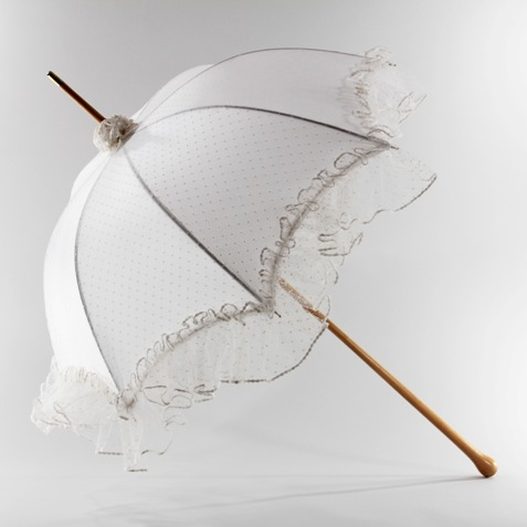 designer bridal umbrellas