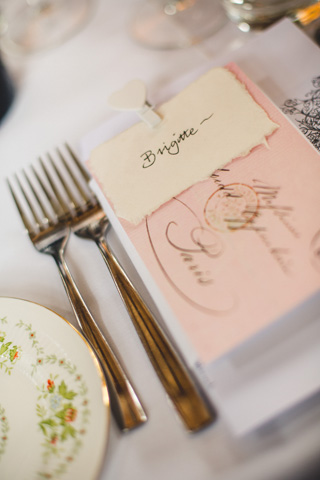 french place settings