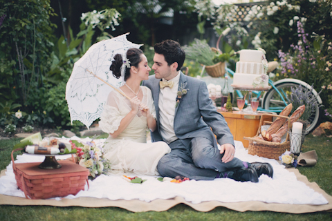french shabby chic wedding