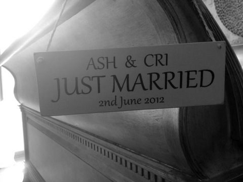 just married france