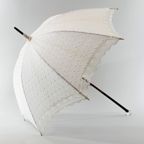 lace bridal umbrella