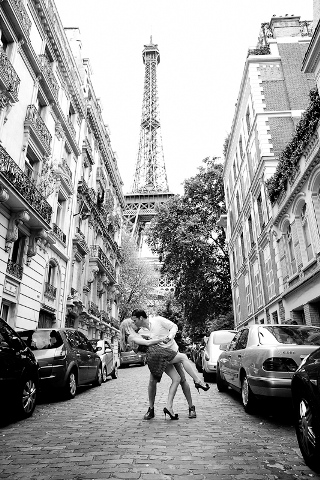 paris engagement shoot