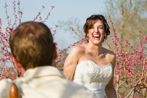 peach orchard wedding