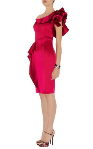 pink karen millan dress