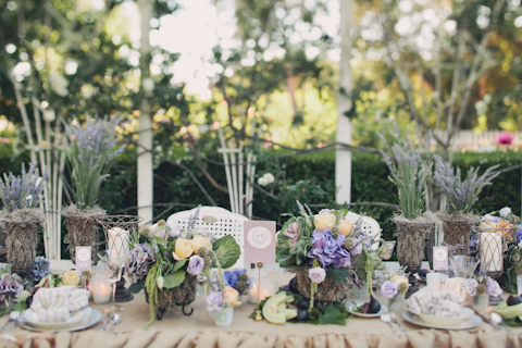 Romantic French Garden Wedding Photo Shoot