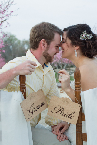 shabby chic bride groom