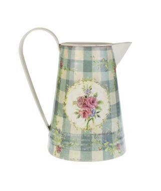 shabby chic jug for a wedding vase