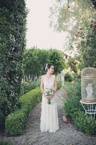 shabby chic bride