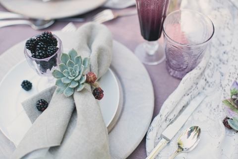 succulents wedding inspiration