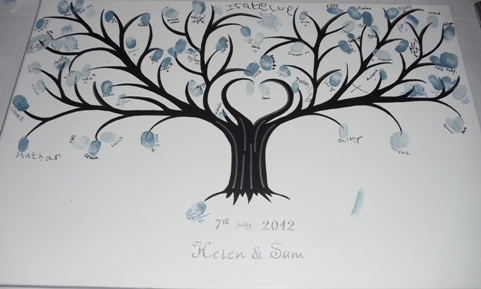 wedding guest tree