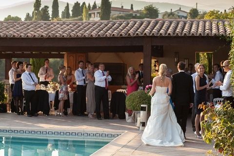 wedding reception provence