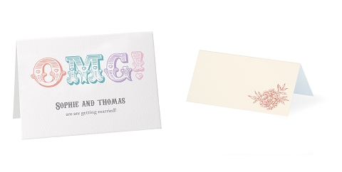 OMG wedding stationery