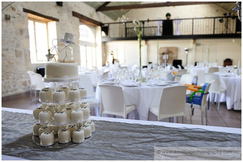 barn wedding reception france