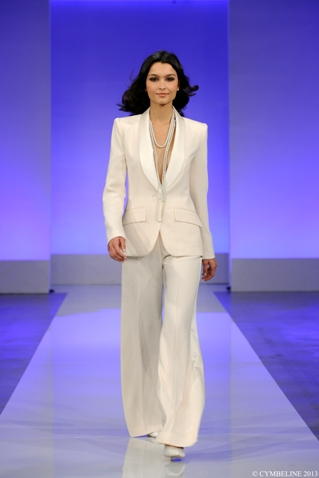 bridal trouser suit