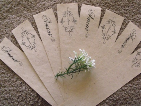 Amour Napkin Rings Diy Project Napkinrings ...