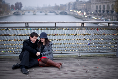 engagement shoot paris