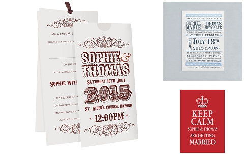fete wedding stationery