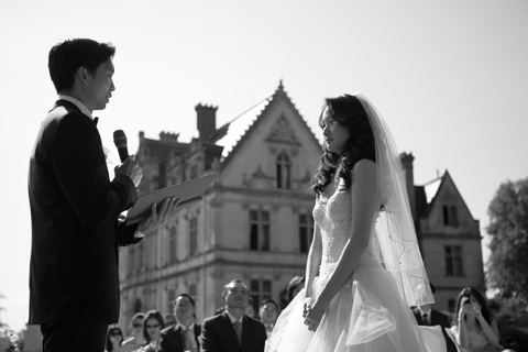 france wedding chateau