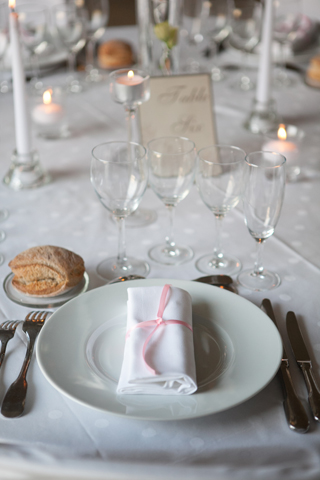 french wedding table
