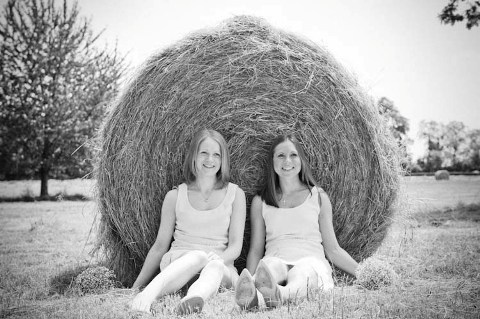 haybale wedding