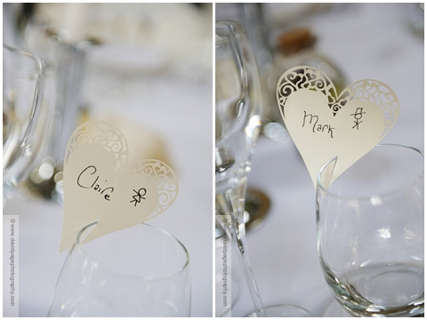 heart name cards