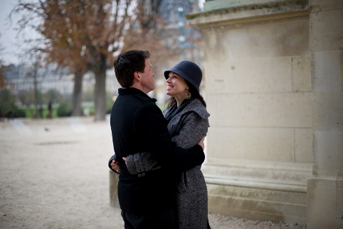 romantic shoot paris