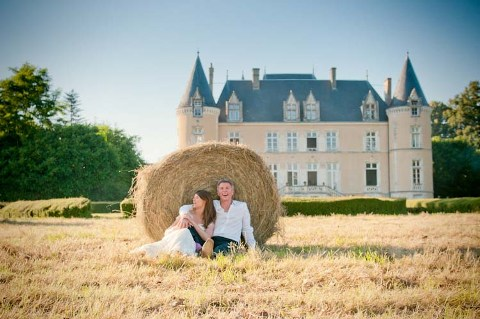 shabby chic wedding normandy