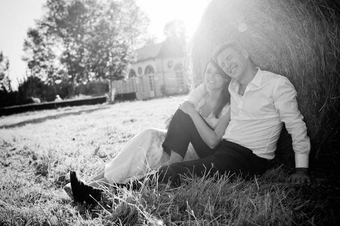 shabby chic wedding photography